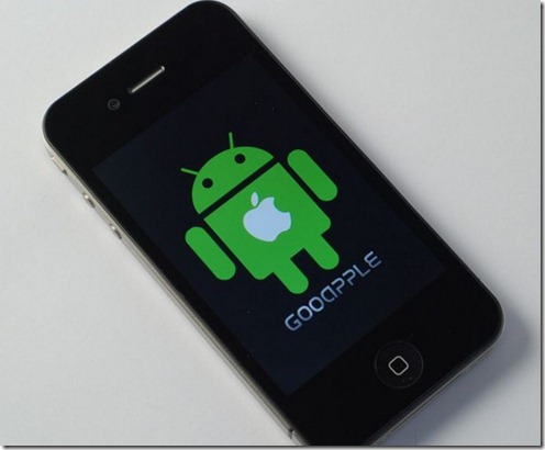 Gooapple thumb WTF is a Gooapple? iPhone 4 clone runs Android [video]