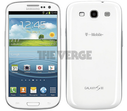 White T Mobile GS3 T mobiles Samsung Galaxy S3 photos surface