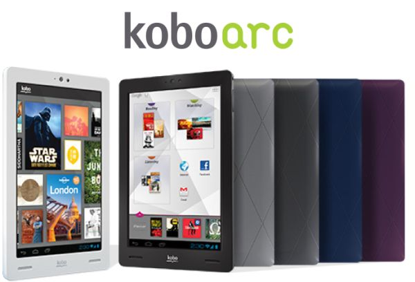kobo arc Kobo Arc tablet hitting store shelves in November, will be available with 64GB