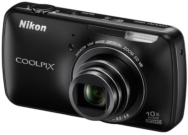 Nikon Coolpix S800C Nikon's Android Based S800C Camera Is Now Available