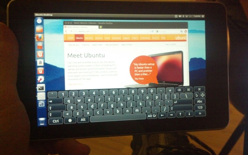 ubuntu on nexus 7 Ubuntu Team Releases Ubuntu For Nexus 7