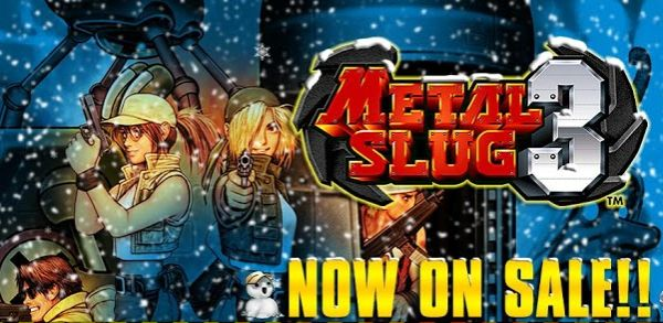 Metal Slug 3 [Deal alert] Metal Slug 3 is only $1.99 for a limited time