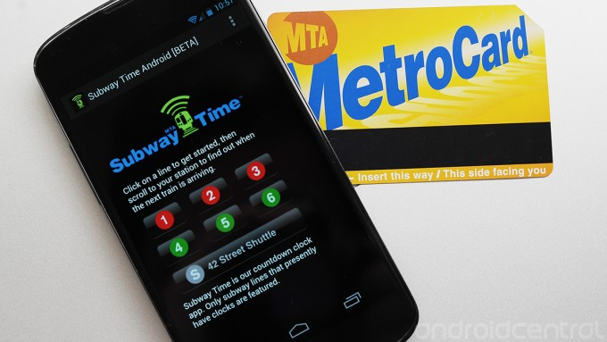 mta subwaytime android 2 New Yorks MTA subway data hits Android in beta form