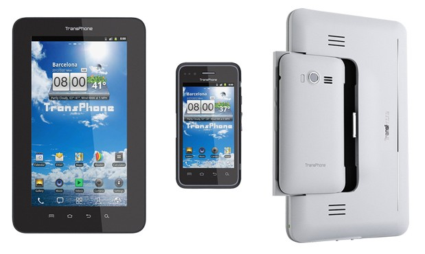 transphone pro Announcement TransPhone smartphone/tablet hybrid announced, pre order now for $240