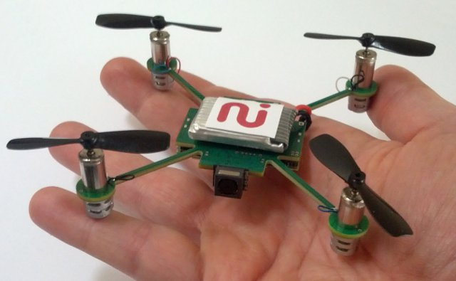 Always Innovating MeCam1 The MeCam Nanocopter will fly, stream video to your Android device