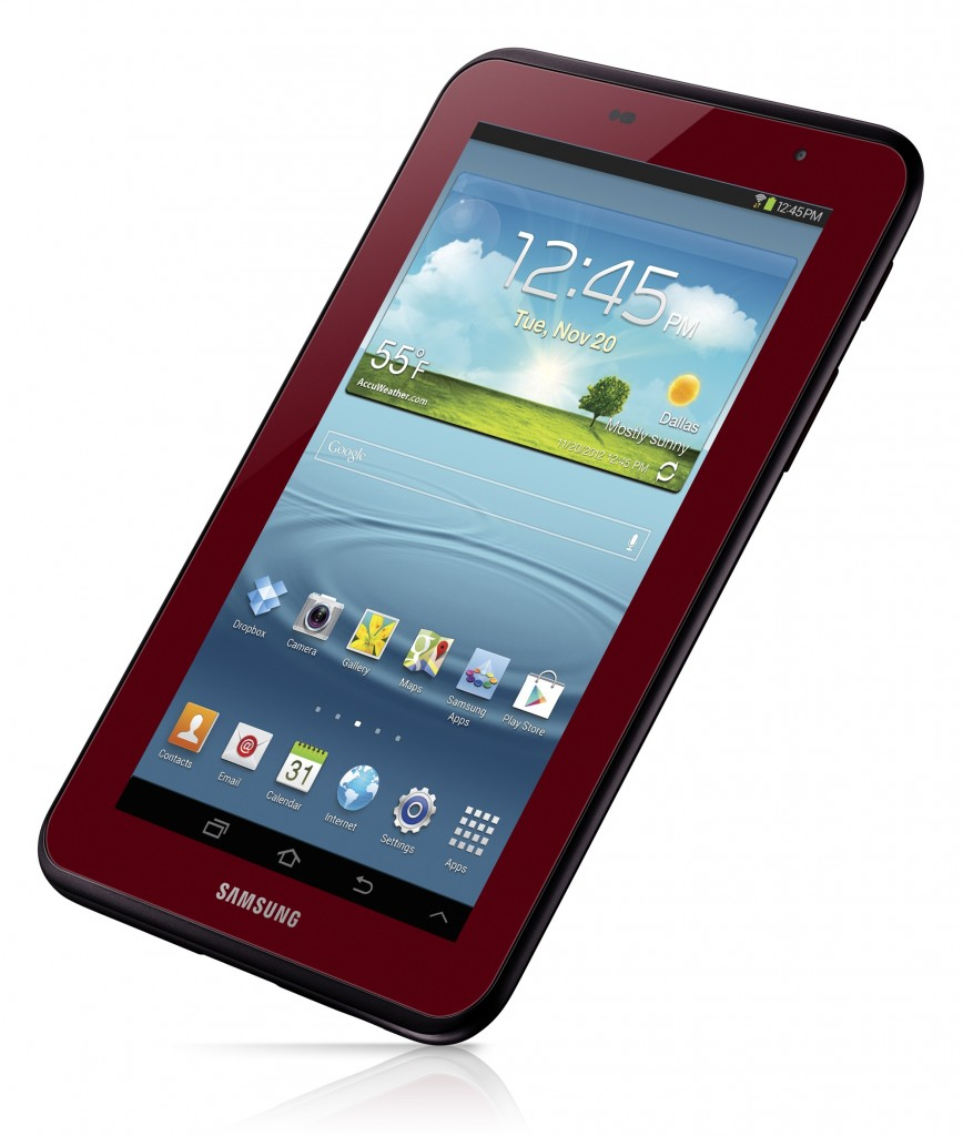 Garnet Red Galaxy Tab 868x1024 Samsung unveils special edition Garnet Red Galaxy Tab 2