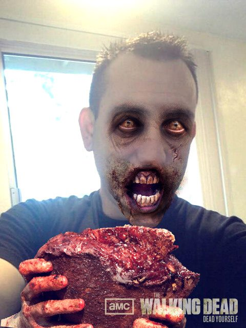deadyourself [New app] AMC releases The Walking Dead: Dead Yourself