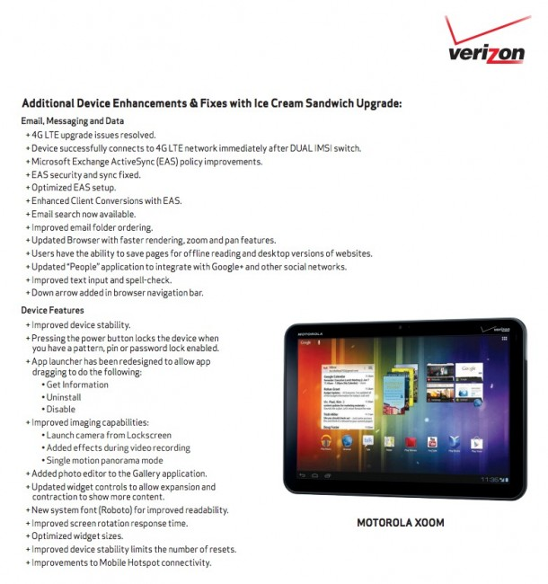 ics xoom2 610x650 Verizons Motorola XOOM to get Android 4.0 June 4