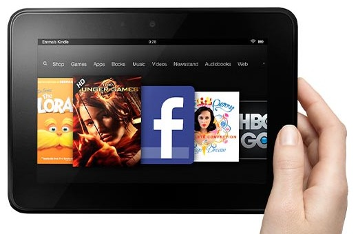 7 inch kindle fire hd Featured: Amazons 7 inch Kindle Fire HD Launches Today