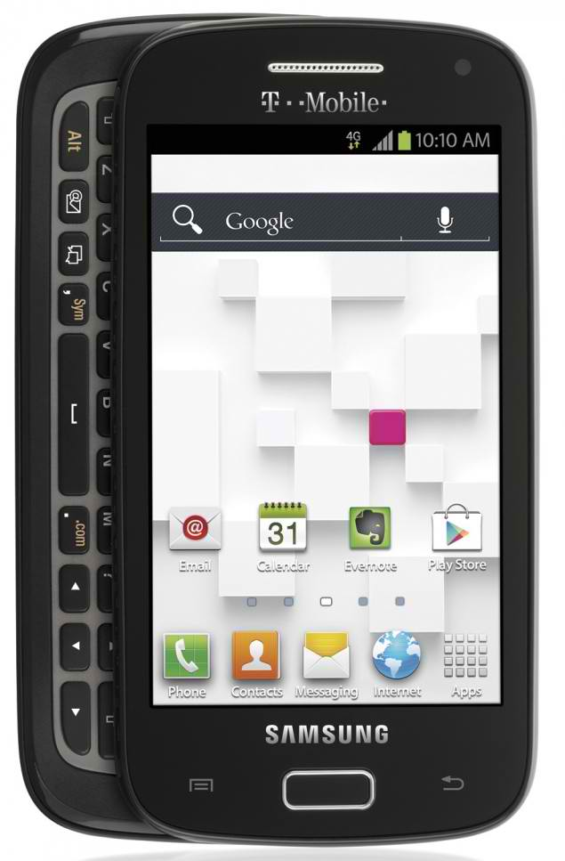 Galaxy S Relay 4G 635x967 T Mobile announces Samsung Galaxy S Relay 4G, packs QWERTY keyboard and Android 4.0