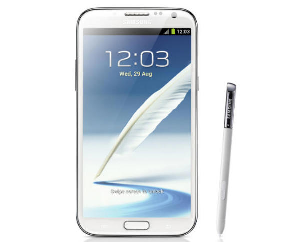 galaxy note 2 press photo Samsung confirms all major U.S. carriers will launch the Galaxy Note II