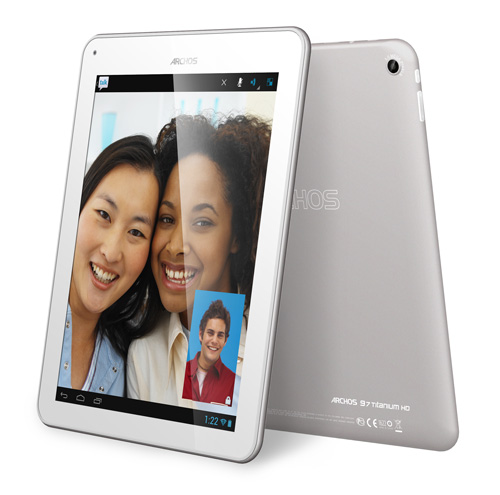 1 3 cameras Archos launches 97 Titanium HD, a tablet with an awesome display