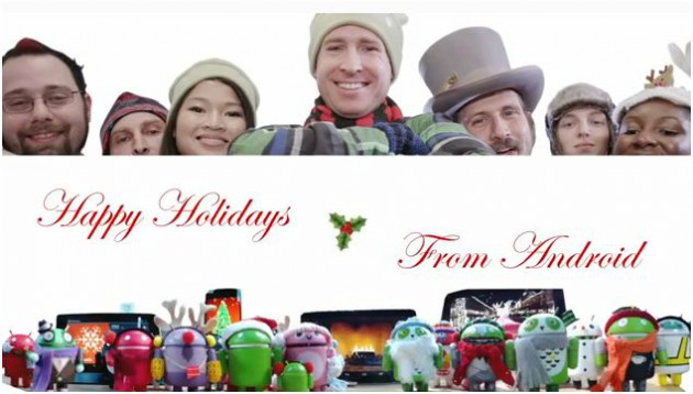 Happy Holidays From Team Android 630x358 Happy Holidays from the Android team! [Video]