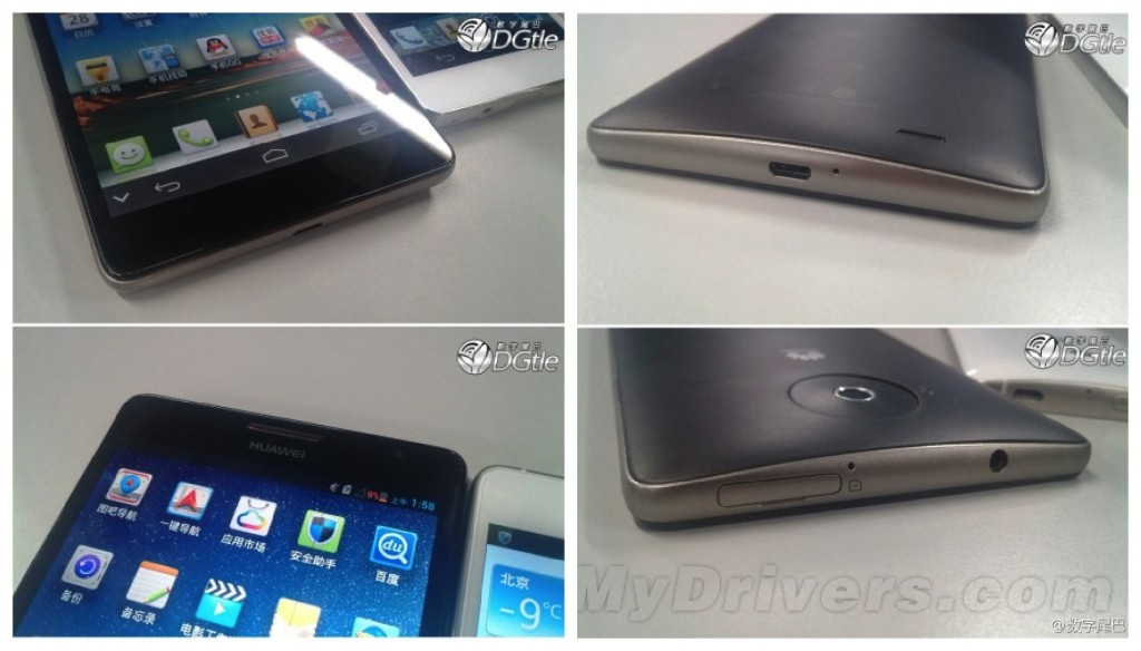 Huawei Ascend Mate leak 1024x584 More leaked images of the 6.1 inch Huawei Ascend Mate surface