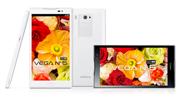 Pantech Vega No.6 01 Pantech announces VEGA No. 6, the latest phablet sports a 5.9 inch screen