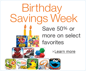 amazon appstore birthday Amazon Appstore celebrates 1st birthday with discounted apps and games