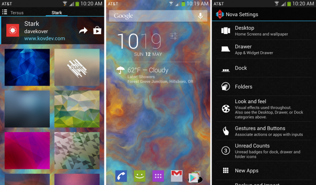 Nova 650x380 Nova Launcher 2.1 update rolls out, brings new wallpaper interface and more